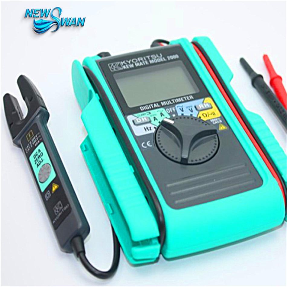 Kyoritsu 2000 Digital Multimeter AC/DC Clamp Tester Meter kyoritsu 2017 digital ac clamp meter max ac600a