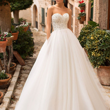 Fmogl Sexy Backless Wedding Dresses 2019 Court Train