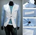 Envío libre 2014 Mens Diseño Casual Slim Fit y Vestido de Algodón de Primavera Blazer Chaquetas tamaño m-2xl