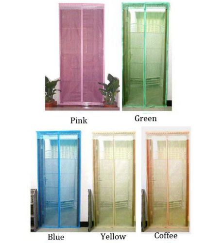 instant mosquito net screen door mesh powerful magnets anti mosquito bug curtain