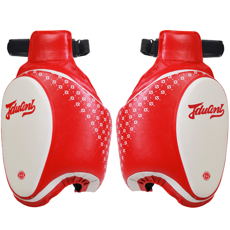 JDUanL 1 Piece Left Right Boxing MMA Sparring Muay Thai Thigh Pads Leg Support Protector Kickboxing