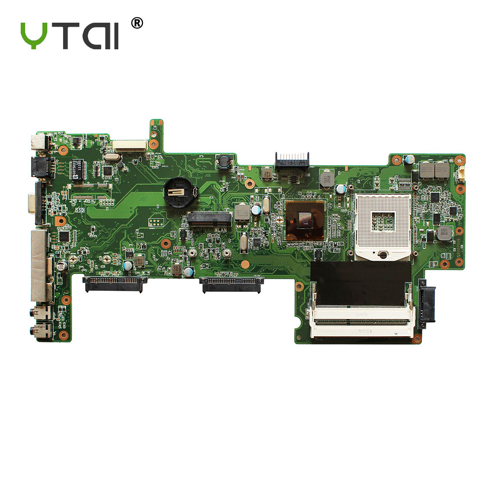 YTAI For asus X72F K72F A72F laptop Motherboard REV2.0 HM55 DDR3 mainboard 100% tested