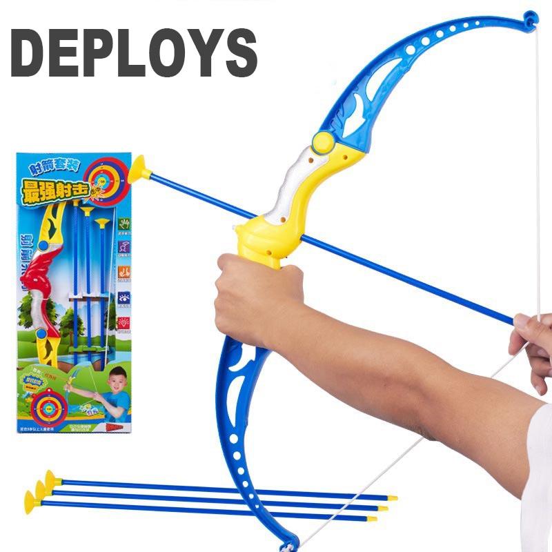 DEPLOYS toys New Kids Archery Bow & Arrow Set With Target ...