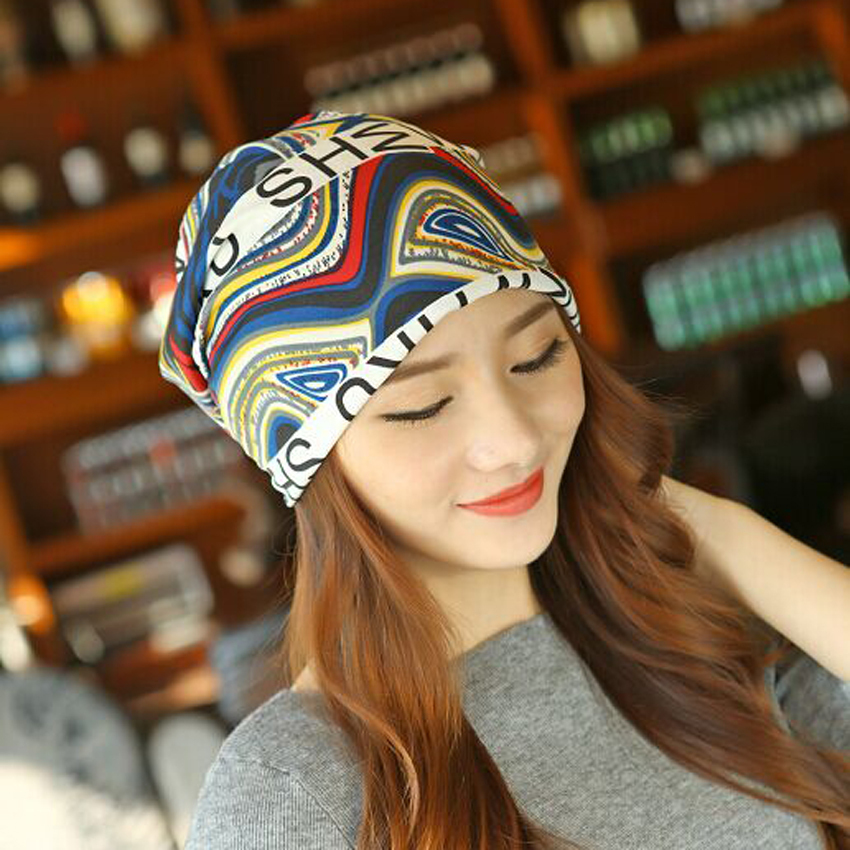 1 Pcs 2015 Autumn And Winter Skullies Knitted Cap Women Empty Top Hair Band Letter Hat Scarf Beanies 4 Colors Free Shipping skullies 2017 new arrival hedging hat female autumn and winter days wool cap influx of men and women scarf scarf hat 1866729