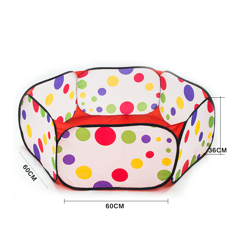 Cartoon-Polka-Dot-Pop-up-Ball-Play-Pool-Tents-Folding-Kids-Hexagon-Playpen-Ball-Pit-Pool