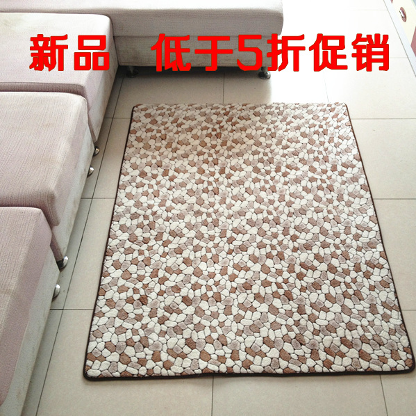 Water wash pebbles living room coffee table carpet doormat fashion bed blankets piaochuang blanketWater wash pebbles living room coffee table carpet doormat fashion bed blankets piaochuang blanket