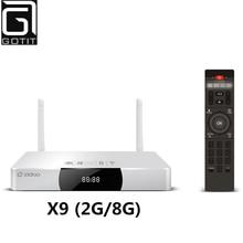 Zidoo x9 allwinner h3 quad core android tv box 2g/8g h.265/hevc 4 K Ausgang 802.11b/g 2,4 GHz WiFi LAN Bluetooth OTA Smart TV Box(China (Mainland))