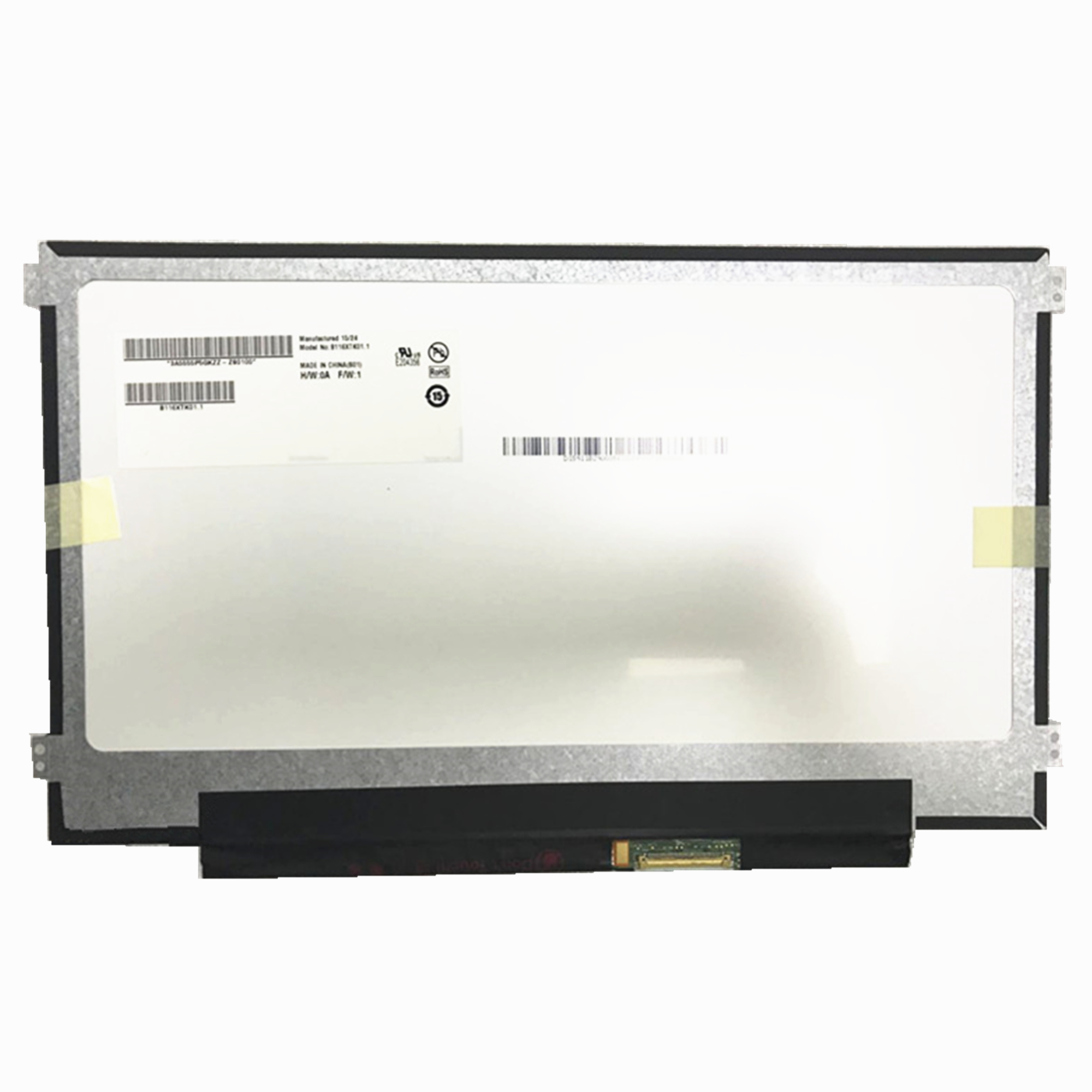 Free Shipping B116XTK01.1 11.6'' <font><b>Laptop</b></font> <font><b>Lcd</b></font> Touch Screen Panel 1366*768 EDP <font><b>40</b></font> <font><b>pins</b></font> with touch function image