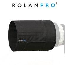 ROLANPRO parasol plegable para objetivo Canon, Nikon, Sigma, Tamron, 500mm, f/4, DSLR (M)