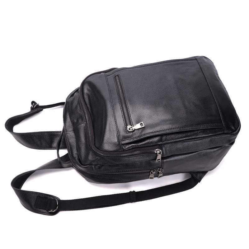 Mochila De Cuero BOSTANTEN mochilas de viaje grandes para hombre mochila de negocios 13 14 15 pulgadas para ordenador portátil mochila antirrobo bolsa de ordenador - 3