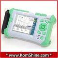 KOMSHINE QX-50-P1 PON OTDR Tester Máquina w/FC + SC + LC Adaptadores Embutido Localizador Visual de Falhas