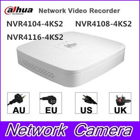 dahua p2p 4k nvr 4ch 8ch 16ch video recorder nvr4104hs 4ks2 nvr4108hs 4ks2 nvr4116hs 4ks2 h 265 8mp resolution DAHUA NVR4104/NVR4108 NVR4116 Smart 1U Mini NVR replaced by H.265 NVR4104-4ks2 NVR4108-4ks2 NVR4116-4ks2 8mp 4ch/8ch/16ch NVR