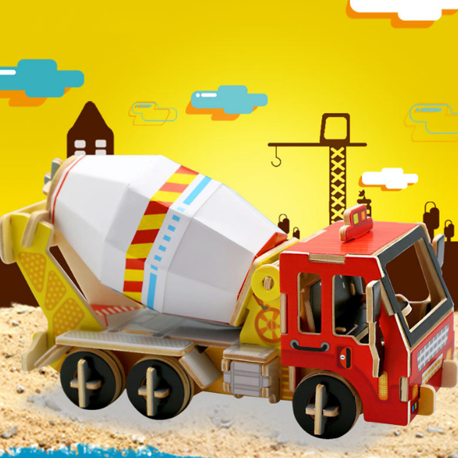 Wooden 3d Jigsaw Puzzle Children ' Educational Toys