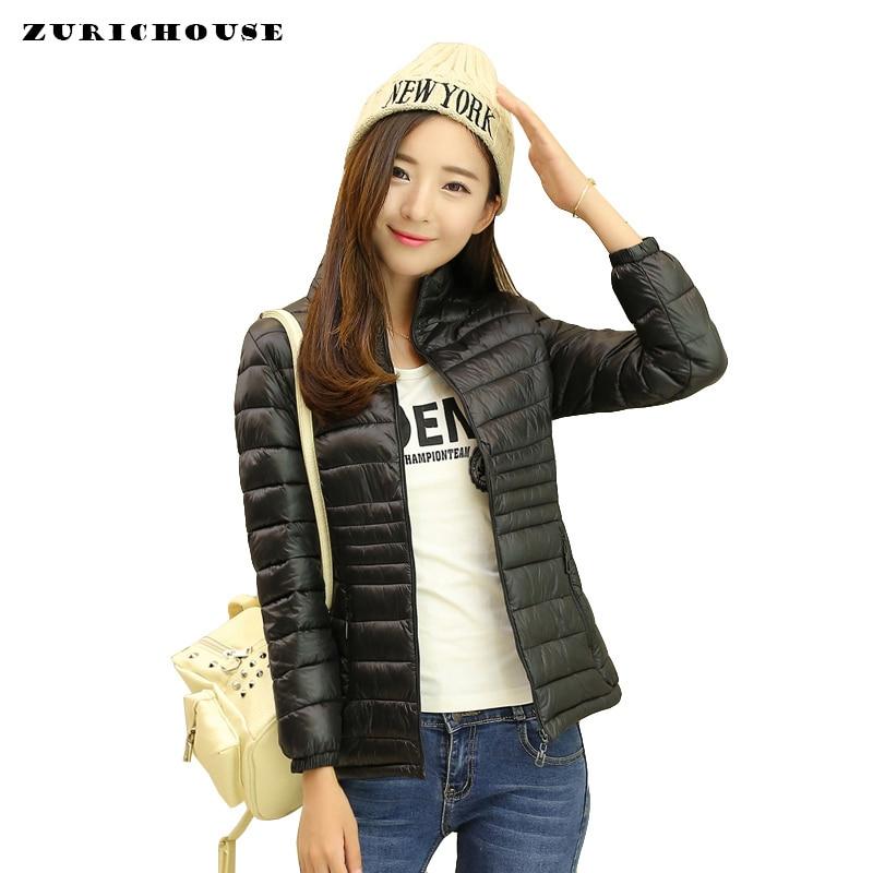Ultra Light   Down   Jacket Women 5XL Plus Size 2019 Winter   Coat   Short Slim Winter Puffer Jacket Portable Windproof Warm   Down     Coat