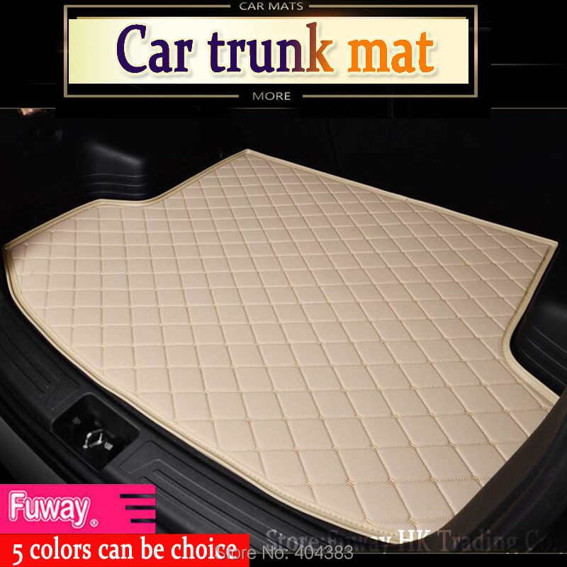 fit car trunk mat for Hyundai ix25 ix35 Elantra SantaFe Solaris Tucson verna Veloster car styling tray carpet cargo liner custom fit car trunk mat for honda fit odyssey cr v civic ciimo city boot liner rear trunk cargo mat floor tray carpet mud cover
