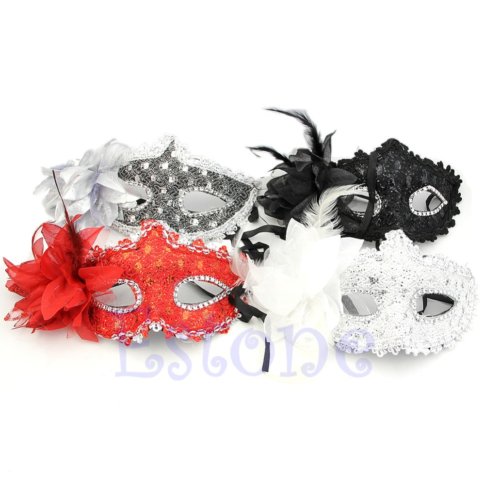 Online Get Cheap Feathered Masquerade Mask -Aliexpress.com ...