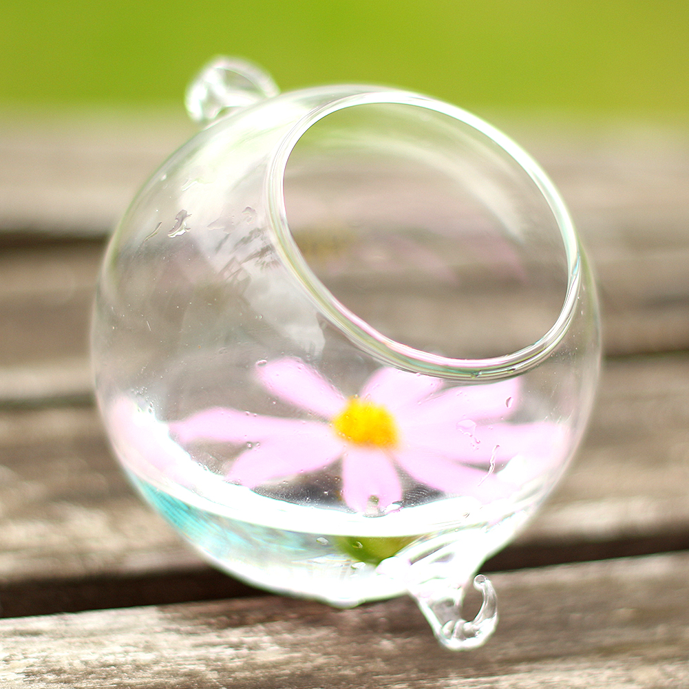 New Creative Clear Hydroponics Hanging Stand Glass Grass Vase With Hook Candle Holder Wedding Decoration chifres malevola png