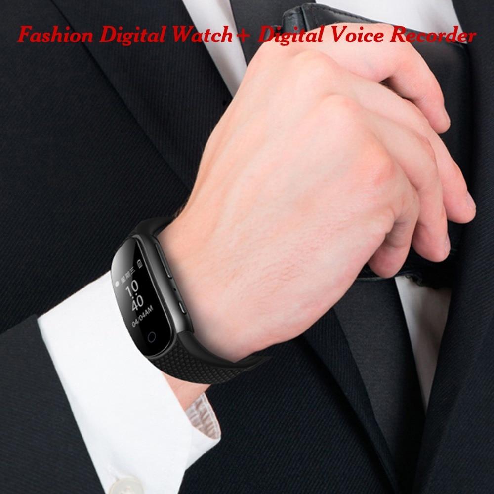 Romantisch Savetek Mode Tragbare Armband Stimme Aktiviert Usb Stift 8 Gb 16 Gb Digital Audio Voice Recorder Armband Mp3 Player Für Vortrag Rohstoffe Sind Ohne EinschräNkung VerfüGbar Unterhaltungselektronik