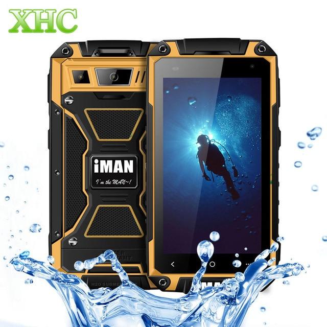 iMAN i6800 Smart Phone 8GB IP68 Waterproof 4.7 inch 3000mAh Android 4.4 MT6582 Quad Core 1.3GHz RAM 1GB WCDMA 3G Smartphone