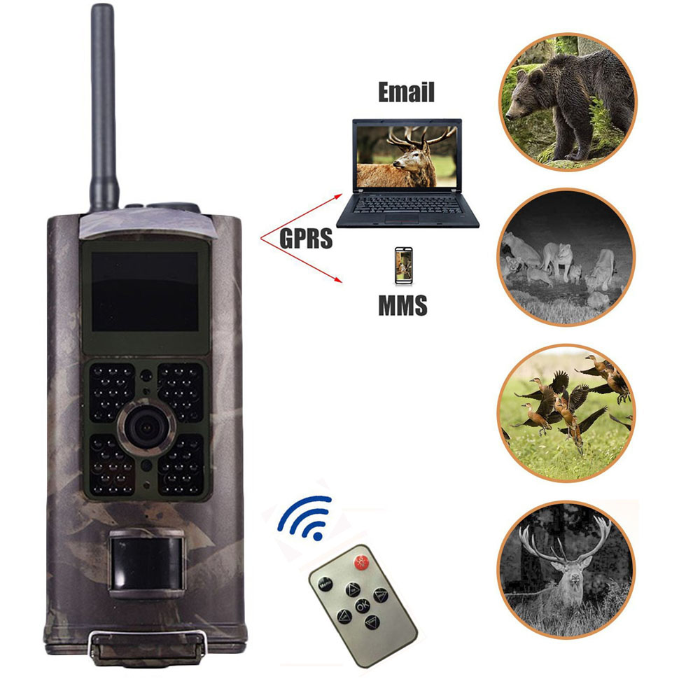 HC-700G 1080P HD Hunting Trail Camera 3G GPRS MMS SMTP Motion Sensor 16M Wildlife Long Range Infrared Night Vision Camera