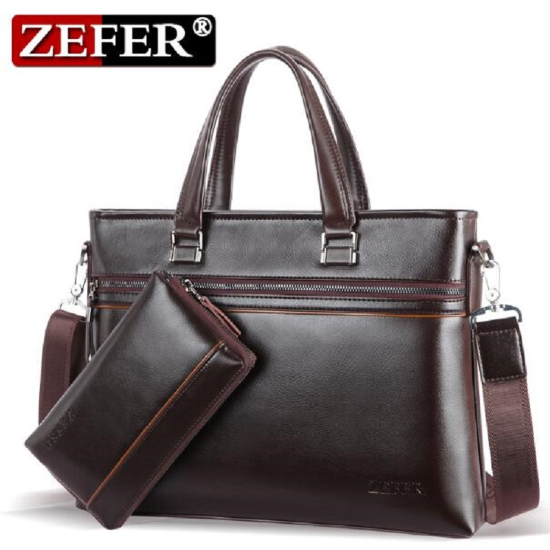 2016 Men Casual Briefcase Business Shoulder Bag Leather Messenger Bags Computer Laptop Handbag Composite bag Men's Travel Bags neweekend men casual briefcase business shoulder bag leather messenger bags computer laptop handbag bag men s travel bags 2951