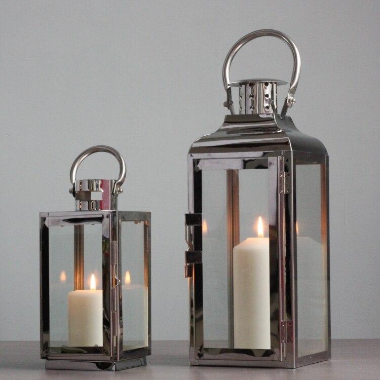 Acquista all 39 ingrosso online in acciaio inox lanterne da - Lanterne moderne ...