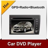 New! 2 din car dvd player cho volvo s60/v70 với gps bt stereo bluetooth đài phát thanh sd/usb miễn phí vận bản đ
