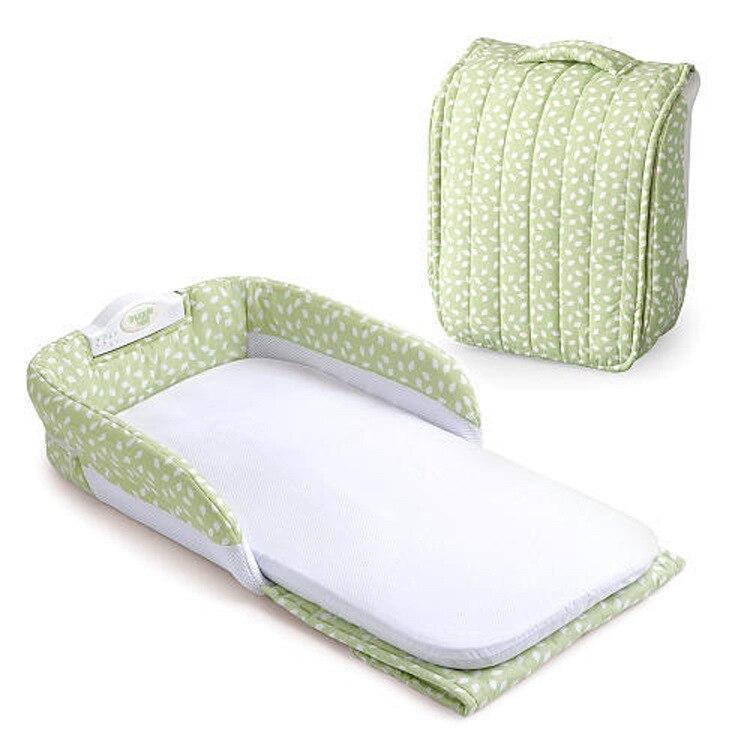 Lit bébé Portable nouveau-né nid douillet lit de sécurité pour bébé garçon filles pliable lit de voyage enfants co-dormir lit d'isolement - 5