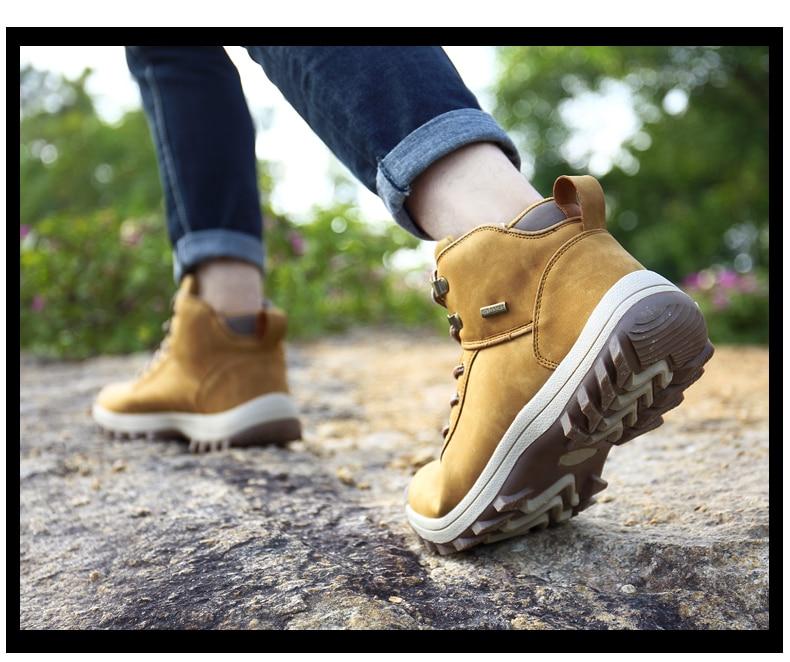 احذية رجالية لفصل الشتاء حجم 39-46 19