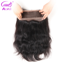 Ariel Brazilian Body Wave 360 Frontal Closure With Baby Hair 100% Remy Human Hair 10″-20″ Natural Color Free Shipping
