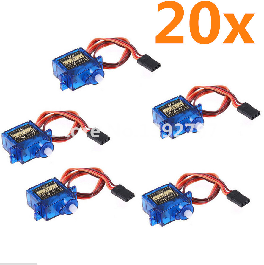 20pcs /lot Tower Pro SG90 Micro 9g Servo Torque JR Arduino RC Helicopters Aeromodelling Planes Helikopter Parts sg kantor alfred h barr jr