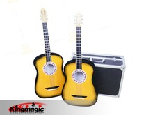 Appearing And Floating Guitar magic tricks magic props 1pcs,for wholesale  Appearing Guitar and floating
