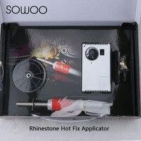 UP 2 in 1 1pcs Super Quality Air Suction Hot Fix Applicator Vacuum Hot Fix Wand Gun For Rhinestones Tools sowoo
