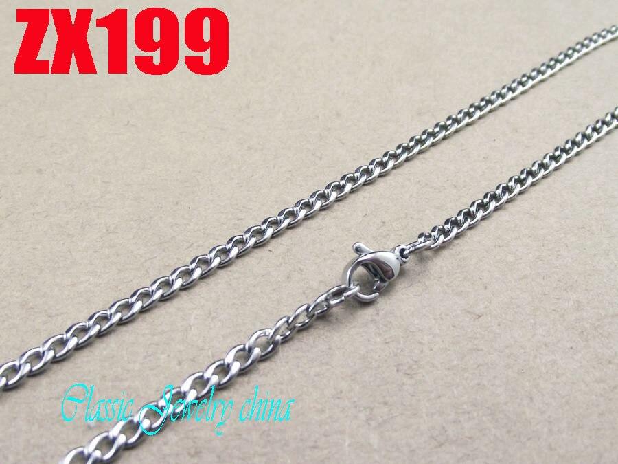 Chaîne Acier inox 316 L   5 longueurs   épaiseure  3 mm