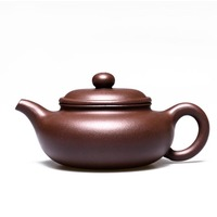 200ml Handmade Yixing Zisha Purple Clay Teapot Archaize Design Tea Pot Puer Black Tea TeaPot Drinkware