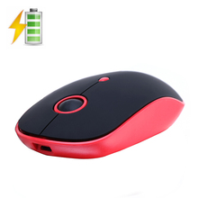 Q10 2.4GHz Wireless Rechargeable Silent Backlit Breath Ergonomic Optical USB Gaming Mouse Gamer 1600DPI For PC Laptop Computer