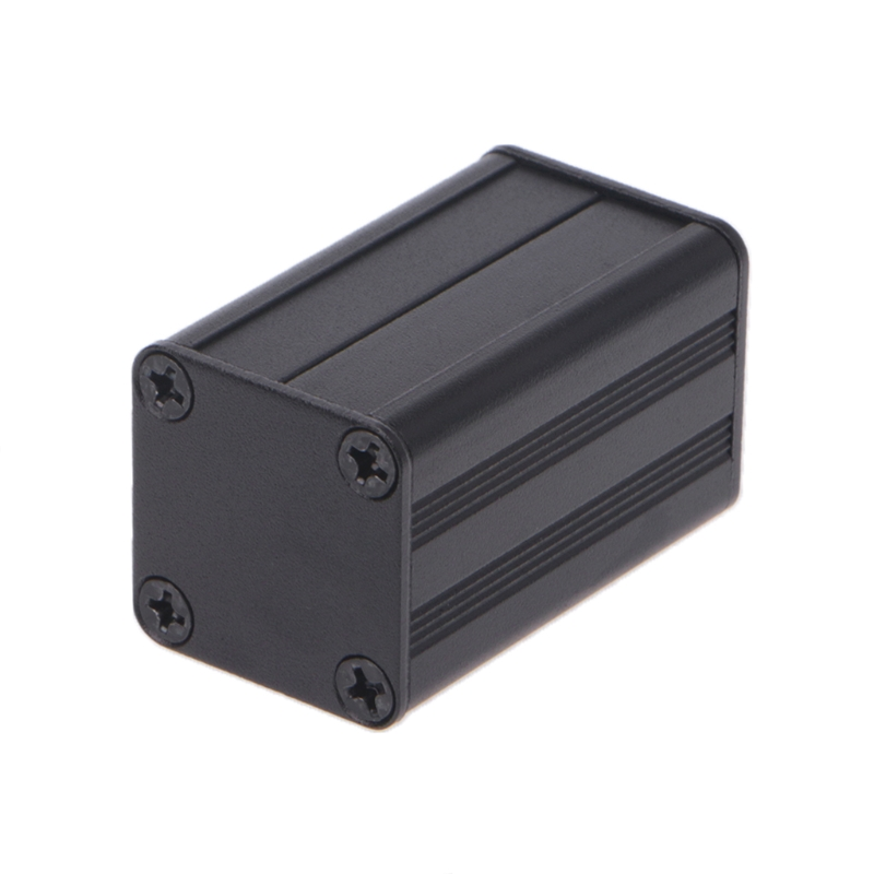 1PCS New DIY Extruded Electronic Project Aluminum Enclosure Case Black 40x25x25mm