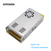 AC 110 220V to DC 24V 15A 360W Voltage Transformer Switch Power Supply for Led Strip Led control Led switch LED display