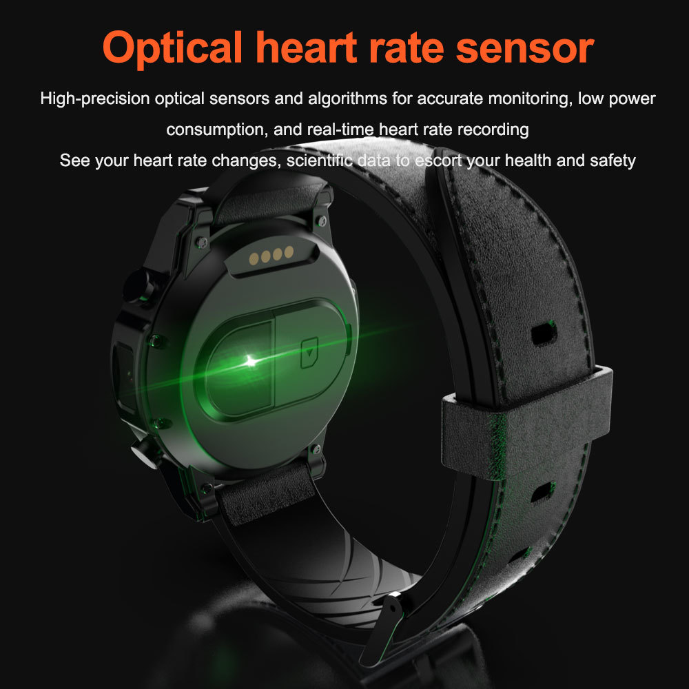 Image 3 - LOKMAT 4G Smart watch men Android 7.1 MTK6739 3GB+32GB AMOLED Screen 610mAh Battery GPS Smartwatch for iosSmart Watches   -