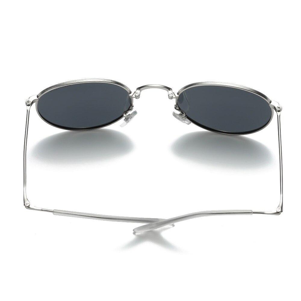 d11044c8fb8 Foldable Sunglasses Women Men Polarized Vintage Metal Round Glasses Folding  Retro Sun Glasses Female Male Oculos Lunette UV400-in Sunglasses from  Apparel ...