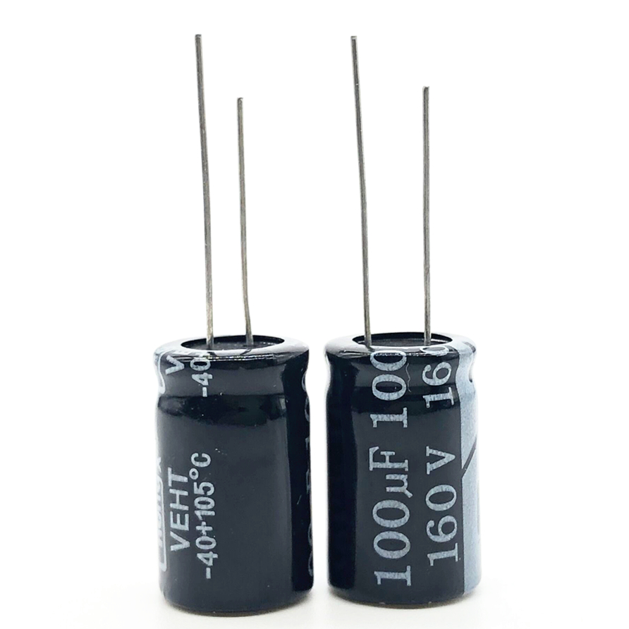 3pcs/lot 160V 100UF 13*21 20% RADIAL Aluminum Electrolytic Capacitor 100000nf 20%