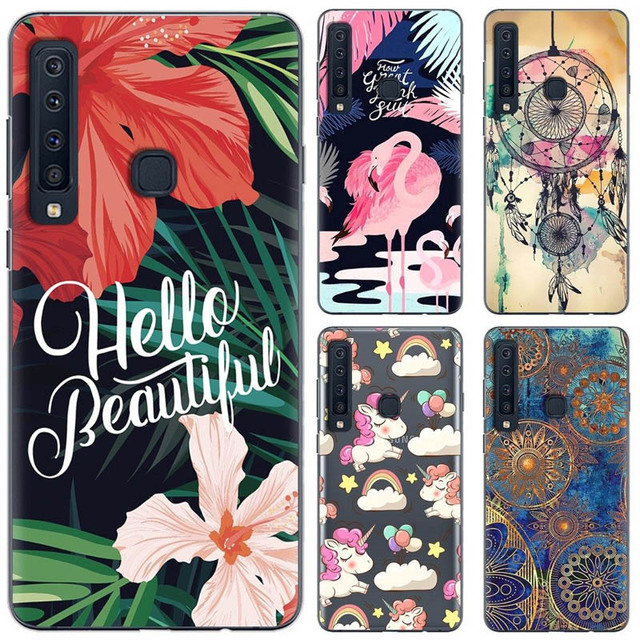 new product ac3d1 7a2f1 US $1.97 34% OFF|For Samsung Galaxy A9 2018 Case Silicone Patterned Print  Soft TPU Back Cover For Samsung A9 2018-in Fitted Cases from Cellphones &  ...