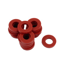 UXCELL 20pcs 19 x 10 3mm O-Ring Hose Gasket Silicone Washer Red For Water Heater Non-toxic Tasteless Home Appliance Pump