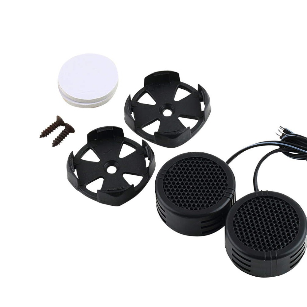 2 Pcs Mine 500W 96Db High Efficiency Super Power Loud Dome Speaker Tweeter For Car Black New Dropping Shipping