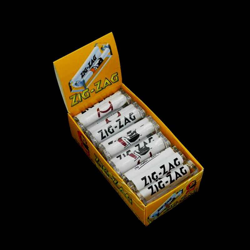 الاكريليك 70 ملليمتر المتداول آلة اليد الأسطوانة التبغ حاقن دليل صانع الرول السجائر المتداول آلة
