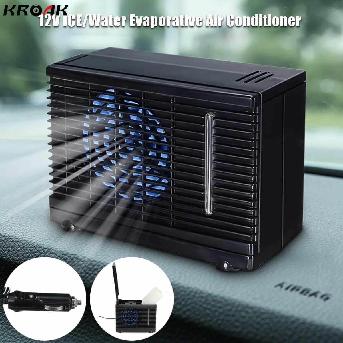 KROAK Car Air Conditioner 12V 2 Speed Portable Mini Home Car