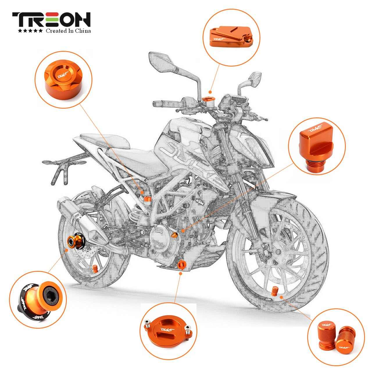 small resolution of for ktm duke125 200 990 duke390 2013 2018 duke 690 2008 2014 motorcycle accessories