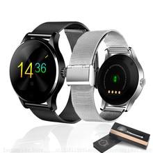 Original K88H Reloj Inteligente Reloj Pista MTK2502 Marcación Bluetooth 4.0 Monitor Del Ritmo cardíaco del Podómetro Smartwatch Para Android IOS