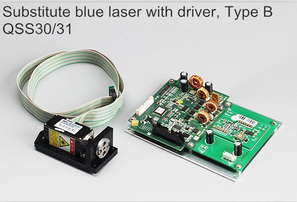 Noritsu laser blue gun with Driver PCB, B type laser head/laser diode for QSS 3000/3001/3011/3021/3101 digital minilab blue laser gun for noritsu qss32 33 34 35 lps 24 pro minilab