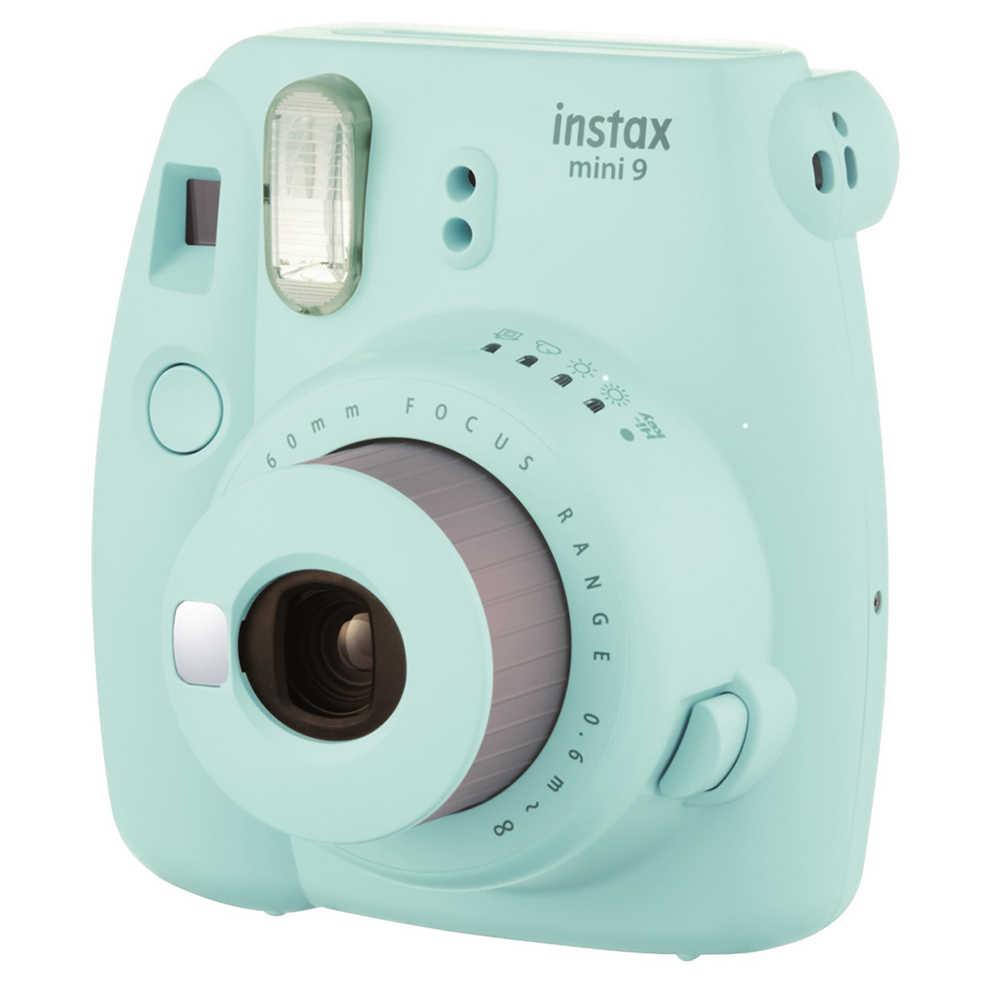 جديد 5 ألوان fujifilm instax ميني 9 كاميرا فورية + 50 صور فوجي الفورية البسيطة 8 أبيض إطار فيلم + الشحن 20 قطع الملصقات و القلم